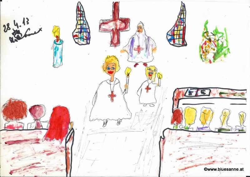 Maxs Erstkommunion. Ein wunderbarer Tag mit meiner Adoptiesfamilie 280413