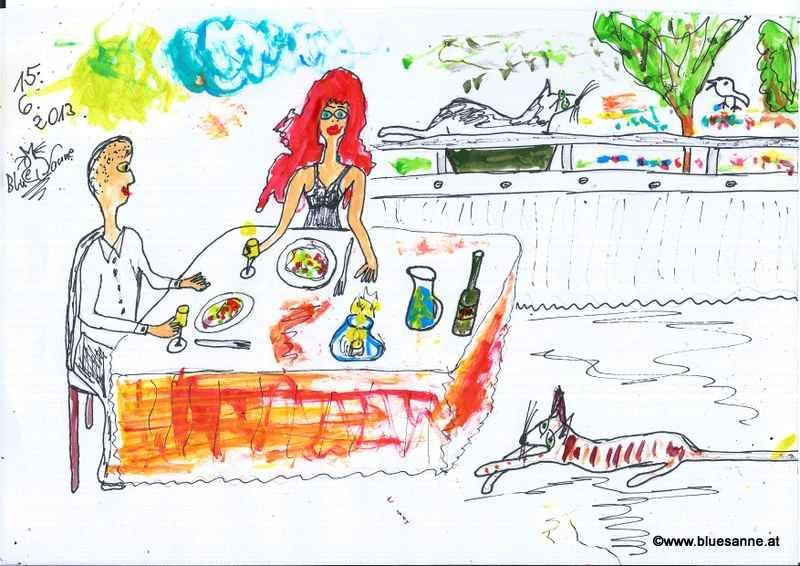 Dinner auf Loggianien150613
