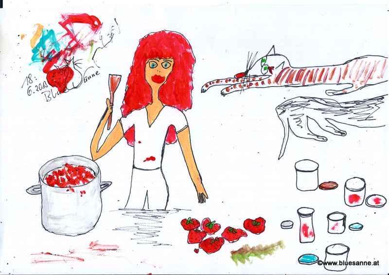 Marmelade einkochen180613