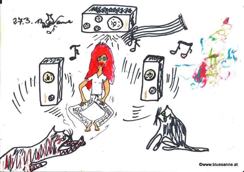 Heute gab es Musik, Musik, Musik!270313