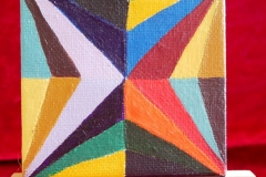 Colorstar	16.03.2015	7 x 7 cm	Acryl + Varnish auf Leinwand + Staffel