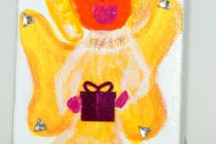 Gelber Engel11.08.20129 x 6 cmAcryl + Varnish auf Leinwand + Staffel