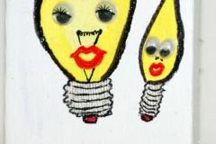 Glühbirnern06.09.20129 x 6 cmAcryl + Varnish auf Leinwand + Staffel