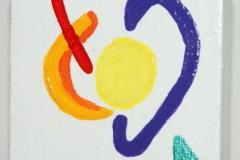 HearMe20.09.20117 x 7 cmAcryl + Plaka + Varnish auf Leinwand + Staffel