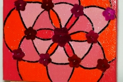 Hippy	22.09.2012	9 x 7 cm	Acryl + Varnish auf Leinwand + Staffel