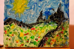 Little Landscape20.12.20208,5 x 6,5 cm Acryl + Varnisch auf Leinwand + Staffel