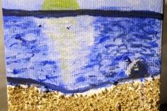 SandyCyprus06.11.20157 x 7 cmAcryl + Sand auf Leinwand + Staffel