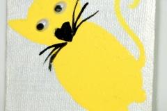 Shiny-Y-Cat31.05.20127 x 7 cmAcryl + Varnish auf Leinwand + Staffel