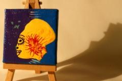Sunhead05.10.20127 x 7 cmAcryl + Varnish auf Leinwand + Staffel