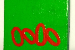 Worm22.09.20117 x 7 cmAcryl + Abtönfarbe auf Leinwand + Staffel