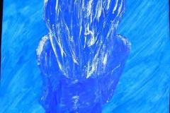 BlueLady13.12.200263 x 44 cmGouache auf Papier
