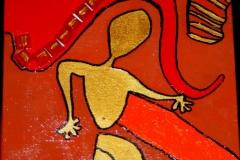 GoldenNaked17.10.201215 x 15 cmAcryl + Varnish auf Leinwand
