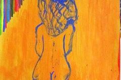 Jalousie26.01 - 27.01.200344 x 30 cmAcryl auf Papier