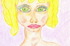 LadyB25.12.200129,7 x 21 cmBuntstift auf Papier
