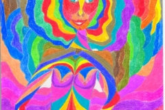 Lady Marmelade28.12. - 29.12.200129,7 x 21 cmBuntstift auf Papier