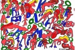 LetterNaked19.10.201229,7 x 21 cmAcryl + Marker auf Papier