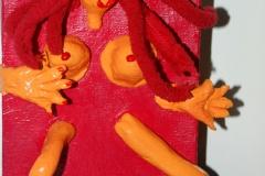 No-Body31.10.201215 x 10 cmAcryl + Figur aus Modelliermasse auf Leinwand