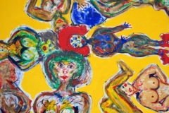 YellowNaked30.04. - 01.05.200280 x 60 cmAcryl auf Leinwand