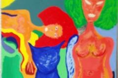 NoView00.00.200670 x 50 cmGouache auf Karton