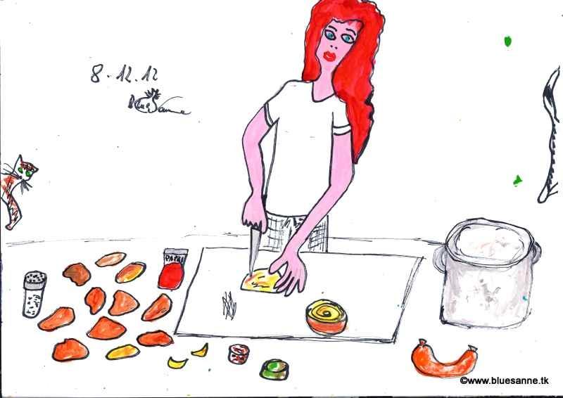 Erdäpfelgulasch kochen081212