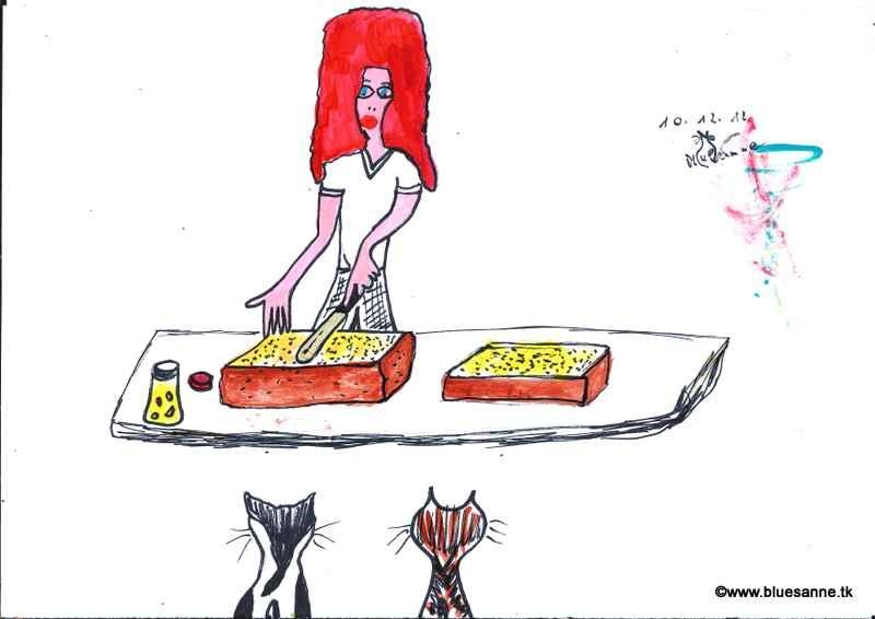 selbstgebackener Mohnkuchen gefüllt mit hausgemachter Apfelmarmelade101012