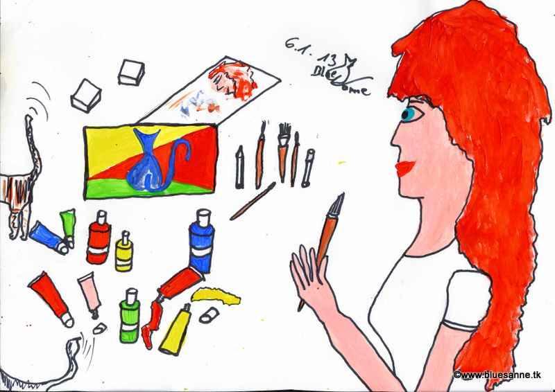 Ich male...jeden Tag!060113