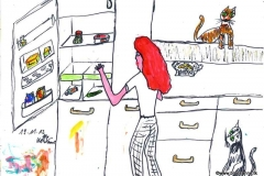 gegen Ende des Monats, leert sich der Kühlschrank191112