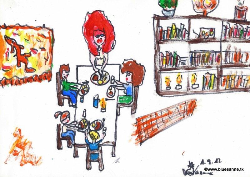 Essen bei FreundenBK010912