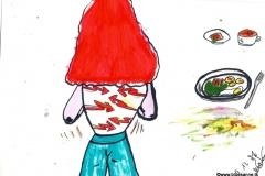 Rückenschmerzen, aber was Gutes zu EssenBK070912