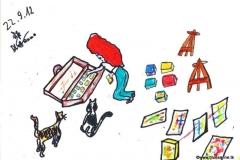 Kunst einpacken für das morgige FestBK220912