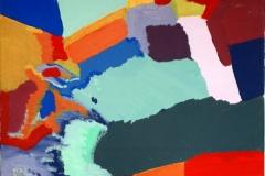 Baustelle00.00.200950 x 40 cmAcryl + Gouache auf Leinwand