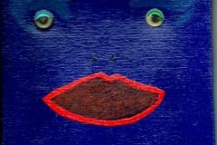 BlueQFace22.05.201215 x 15 cmAcryl auf Leinwand