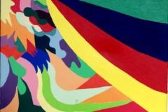 Curtain07.03.200750 x 40 cmAcryl + Gouache auf Leinwand