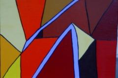 Dach25.05.2013 - 08.08.201540 x 30 cmAcryl auf Leinwand