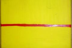 Dirty Line24 x 18 cmAcryl + Gouache auf Leinwand