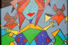 Fairys26.08.201230 x 24 cmAcryl auf Leinwand