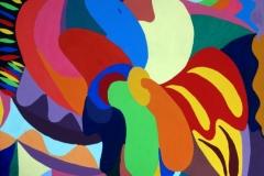 Flowerpower20.03.200760 x 50 cmAcryl + Gouache auf Leinwand