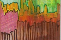 Hinterm Zaun06.07.201330 x 30 cmAcryl auf Leinwand