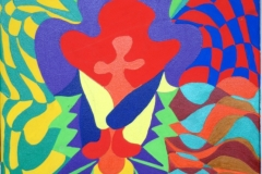 Holy05.06.200950 x 40 cmAcryl + Plaka  auf Leinwand