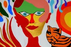 LadyTiger21.03.201264 x 49 cmAcryl auf Leinwand