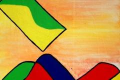 Loveletter23.07.200650 x 40 cmAcryl + Pastellkreide auf Leinwand