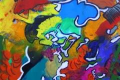 Mr.Hat03.03.201270 x 50 cmAcryl auf Leinwand