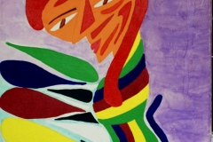 PicBlue07.04.200750 x 40 cmAcryl + Pastellkreide auf Leinwand