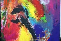 Pony26.04.201270 x 50 cmAcryl auf Leinwand