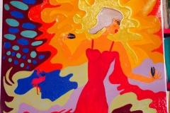 Pritty Flamenco26.10.2016-28.05.201850 x 50 cmAcryl auf Leinwand