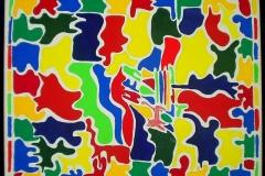 Puzzle50 x 40 cmAcryl auf Leinwand