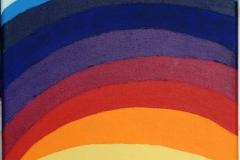 Rainbow27.12.200830 x 30 cmAcryl + Gouache auf Leinwand