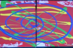Spirale12.09.201115 x 15 cmAcryl auf Leinwand (2 Stk.)