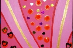 Street of Hearts22.09.201215 x 15 cmAcryl auf Leinwand