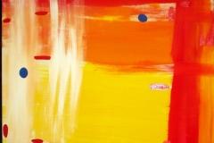 SunnyAfternoon06.02.200780 x 60 cmAcryl + Pastellkreide auf Leinwand